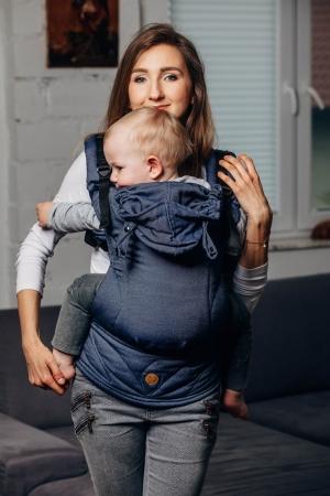 LennyGo Marsupiu Ergonomic -Jeans- Baby Size0