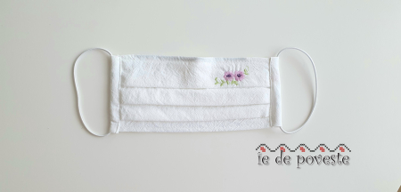 Masca reutilizabila Copii - Spring Flower2