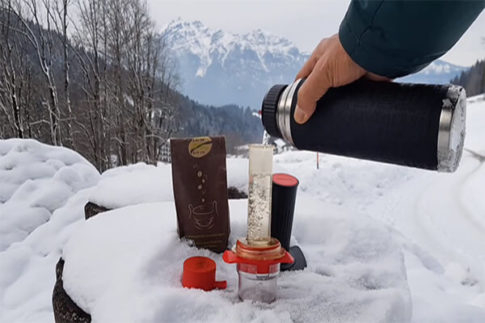 Aparat de infuzare cafea – Cafflano Kompresso 3