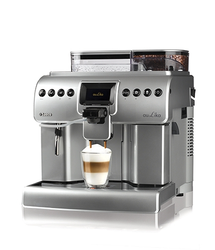 Automat cafea Saeco Aulika Focus, 1400W, argintiu (mat) 0