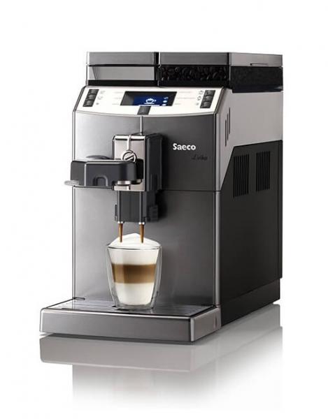 Automat cafea Saeco Lirika One Touch Cappuccino, 1850 W, Argintiu (mat) 0