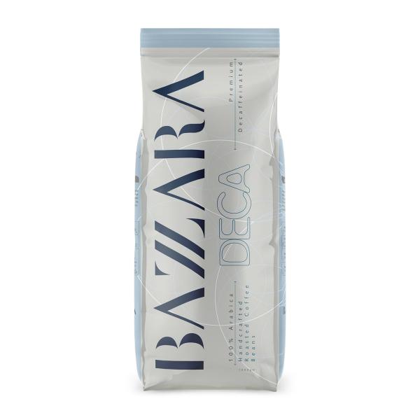 CAFEA BOABE BAZZARA DECAFFEINATED, 1 KG 0