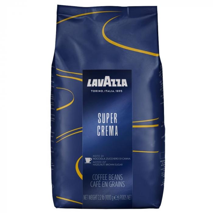Cafea boabe Lavazza Super Crema, 1 kg 0