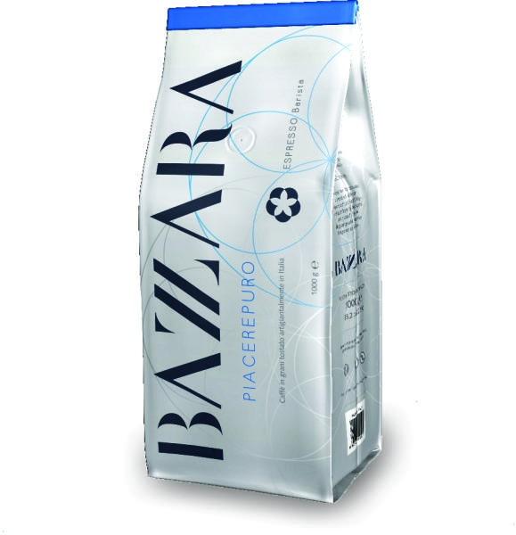 Cafea boabe Bazzara Piacerepuro, 1kg 0