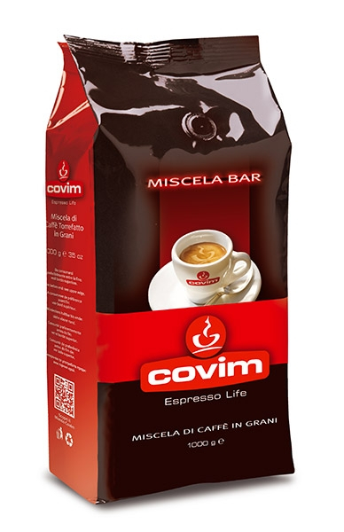 Cafea boabe Covim Miscela Bar, 1kg 0