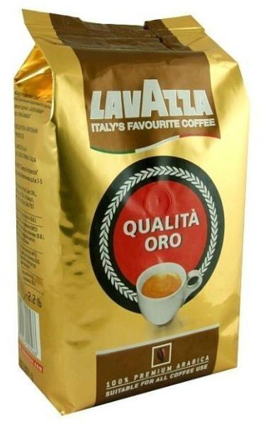 Cafea boabe Lavazza Qualita Oro, 1 kg 0