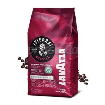 Cafea boabe Lavazza Tierra Brasile Extra Intense, 1 kg 0