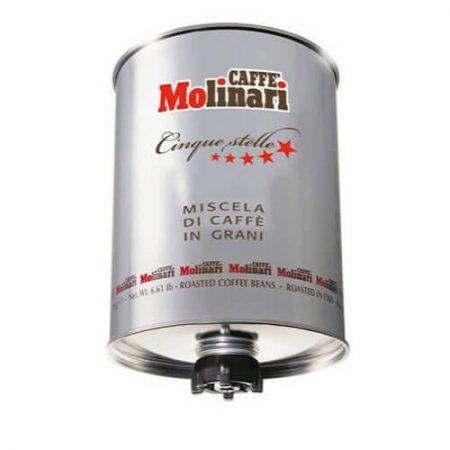 Cafea boabe Molinari Cinque Stelle Silver, 3kg 0
