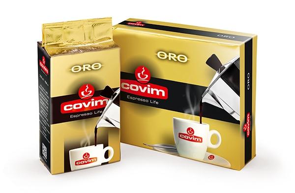 Cafea macinata COVIM ORO, 2 x 250 gr 0