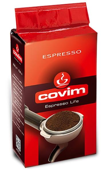 Cafea macinata Covim Espresso, 250g 0