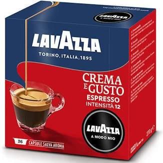 Capsule cafea Lavazza A Modo Mio Crema E Gusto, 36 buc 0