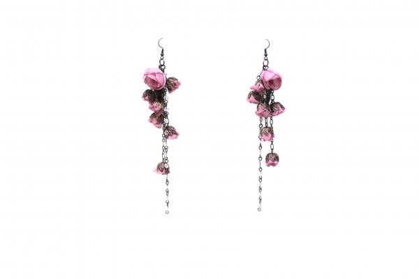 Cercei Ana Popova Aurora Rose Flower 0