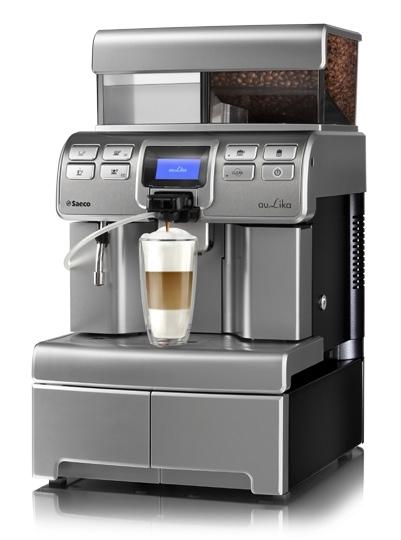 Espressor automat Saeco Aulika Top HSC RI V2, 1400 W, argintiu (mat) 1