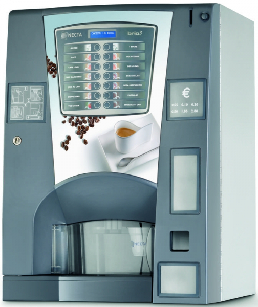 Espressor automat cafea Necta BRIO 3 IN 7 0