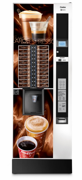 Espressor automat cafea Necta CANTO TOP DUAL CUP 2 ES 9 0