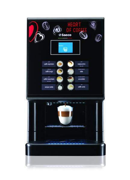 Espressor automat cafea Saeco Phedra EVO Cappuccino 9gr, negru, 1750W 0