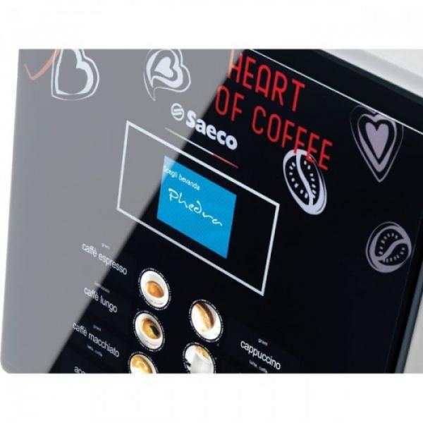 Espressor automat cafea Saeco Phedra EVO Cappuccino 9gr, negru, 1750W 2