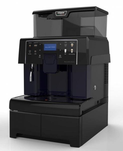 Espressor cafea Saeco Aulika Evo Top HSC, negru, 15bari, 1300w 2