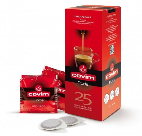 Monodoze cafea Covim Granbar, 25 buc 0