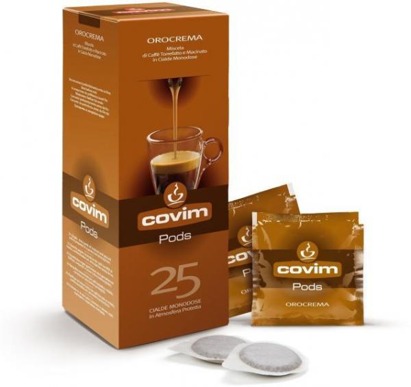 Monodoze cafea Covim Orocrema compatibil ESE, 150 buc 0