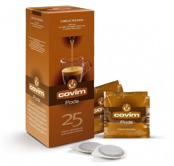 Monodoze cafea Covim Orocrema compatibil ESE, 25 buc 0