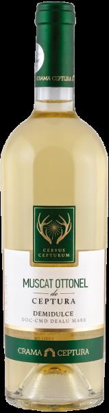 Vin Alb Demidulce Muscat Ottonel Cervus Cepturum, Crama Ceptura, 0.75 l 0