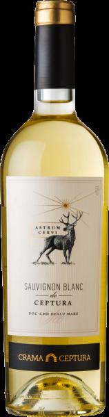 Vin Alb Demisec Sauvignon Blanc Astrum Cervi, Crama Ceptura, 0.75 l 0