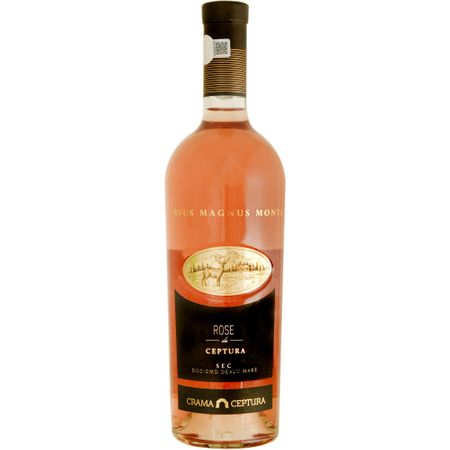 Vin sec Rose Crama Ceptura, 0.75 l 0