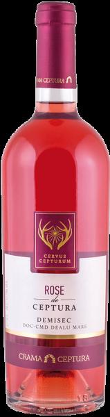Vin Rose DOC Demisec Cervus Cepturum, Crama Ceptura, 0.75 l 0