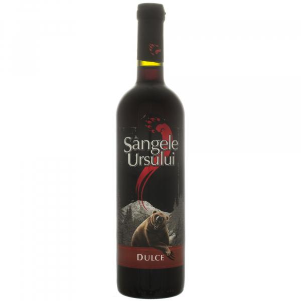 Vin Rosu Dulce Sangele Ursului, Crama Ceptura, 0.75 l 0