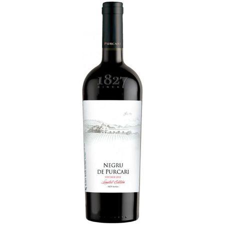 Vin Rosu Sec Negru de Purcari VINTAGE, 0.75 l 0