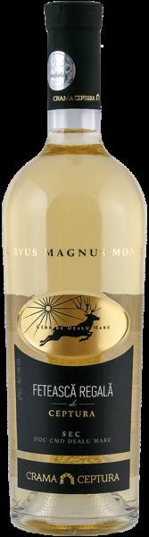 Vin alb sec Feteasca Regala Crama Ceptura, 0.75 l 0