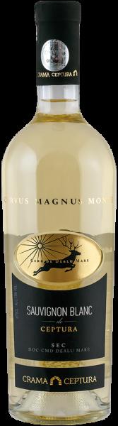 Vin alb sec Sauvignon Blanc Crama Ceptura, 0.75 l 0