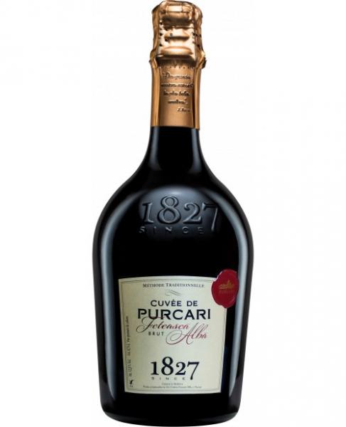 Vin spumant Alb Brut Purcari Cuvee Feteasca Alba, 0.75 l 0
