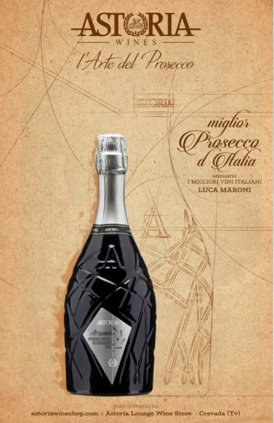 "Vin spumant Astoria ""Arzanà"" Prosecco Superiore Cartizze D.O.C.G. 1"