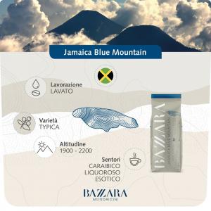 Cafea boabe Bazzara Jamaica Blue Mountain, 1 kg1