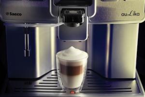 Espressor automat Saeco Aulika Top HSC V2, 1400 W, argintiu (mat)2