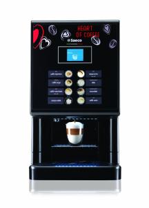 Espressor automat cafea Saeco Phedra EVO Cappuccino 9gr, negru, 1750W0