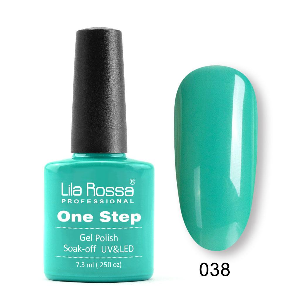 Oja semipermanenta Lila Rossa One Step 038 7.3 ml [0]