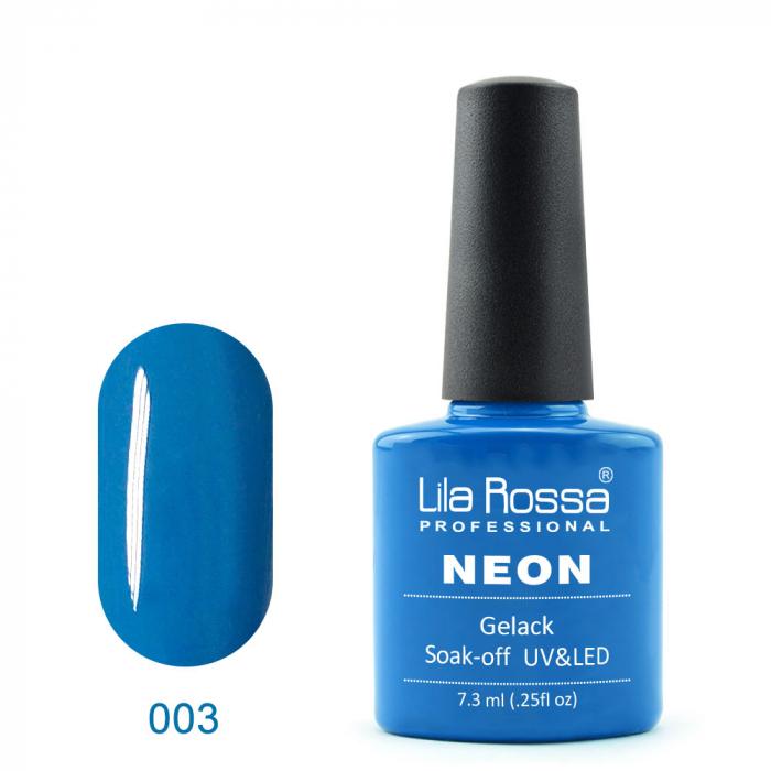 Oja semipermanenta Lila Rossa NEON 003 7.3 ml [0]