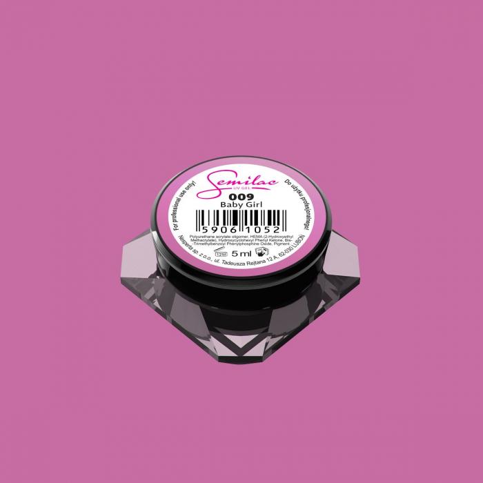 Gel Color Semilac 009 Baby Girl [0]