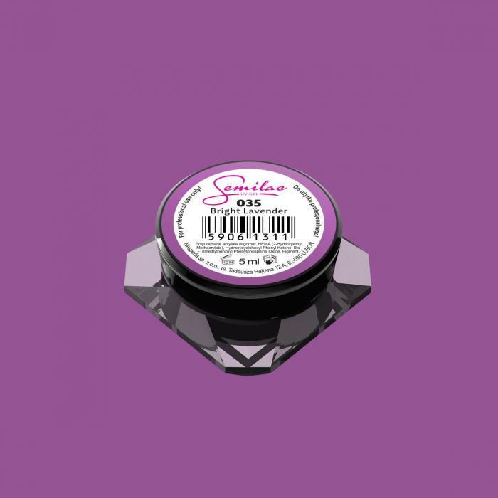 Gel Color Semilac 035 Bright Lavender [0]