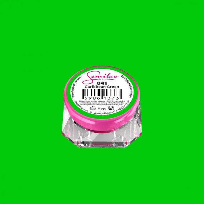 Gel Color Semilac 041 Caribbean Green [0]