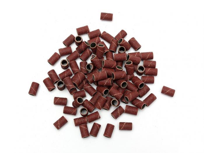 Inele smirghel granulatie 180 pentru pila electrica 100 buc. [0]