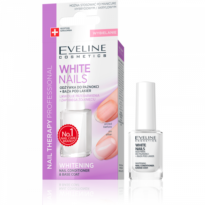 Tratament unghii pentru albire si netezire Eveline Nail Therapy 12ml [0]