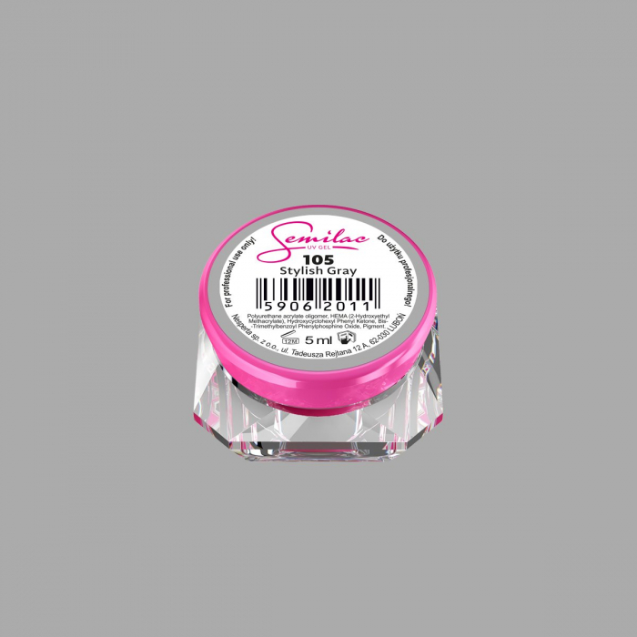 Gel Color Semilac 105 Stylish Gray [0]