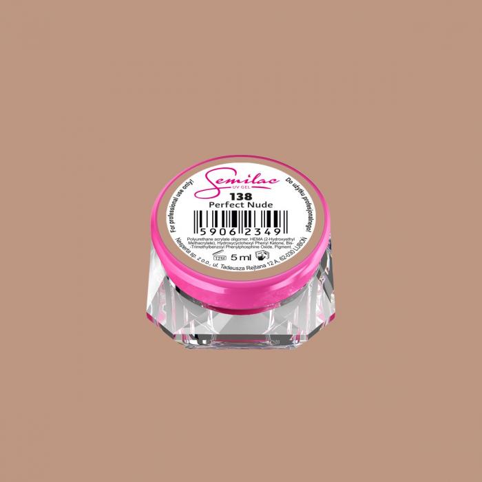 Gel Color Semilac 138 Perfect Nude [0]