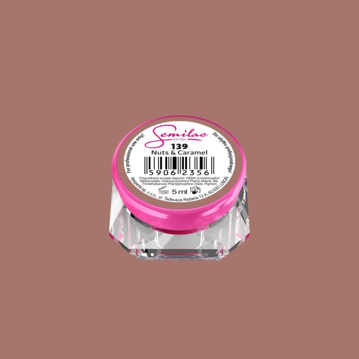 Gel Color Semilac 139 Nuts & Caramel [0]