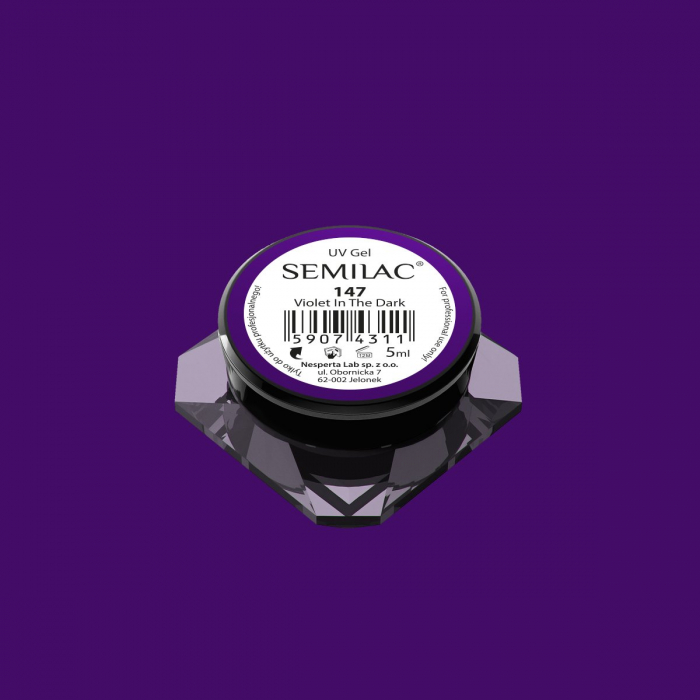 Gel Color Semilac 147 Violet In The Dark [0]