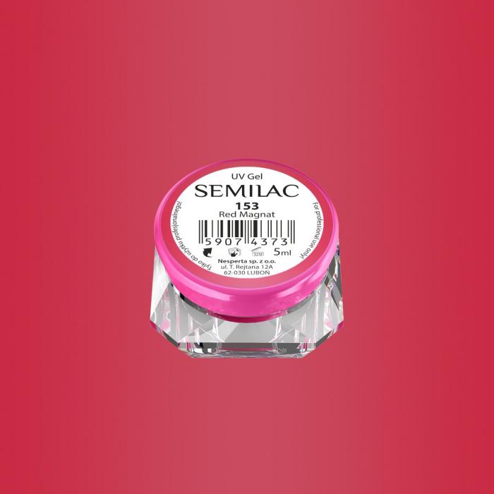 Gel Color Semilac 153 Red Magnat [0]